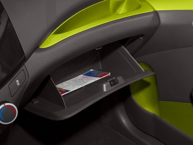 2015 Chevrolet Spark Prices and Values Hatchback 5D 2LT I4 glove box