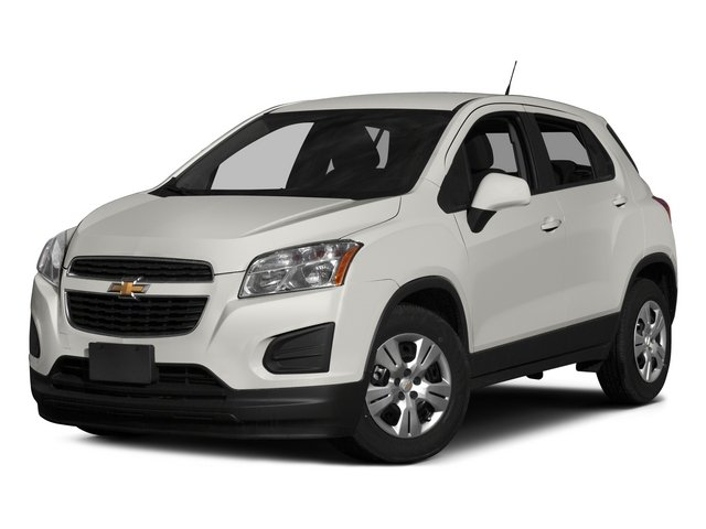2015 Chevrolet Trax Prices and Values Utility 4D LS Fleet 2WD I4 Turbo side front view