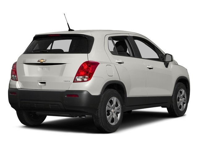 2015 Chevrolet Trax Prices and Values Utility 4D LS Fleet 2WD I4 Turbo side rear view