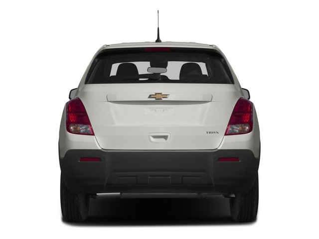 2015 Chevrolet Trax Pictures Trax Utility 4D LS AWD I4 Turbo photos rear view