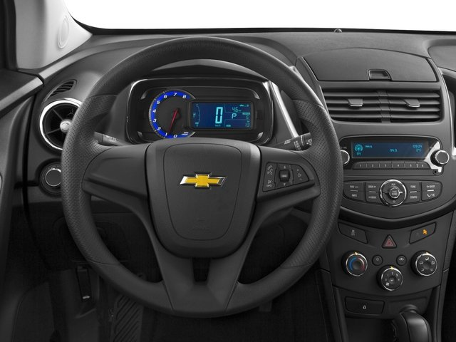 2015 Chevrolet Trax Prices and Values Utility 4D LS Fleet 2WD I4 Turbo driver's dashboard