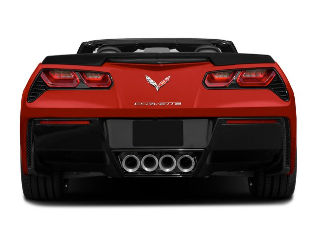 2015 Chevrolet Corvette Pictures Corvette Convertible 2D Z51 3LT V8 photos rear view