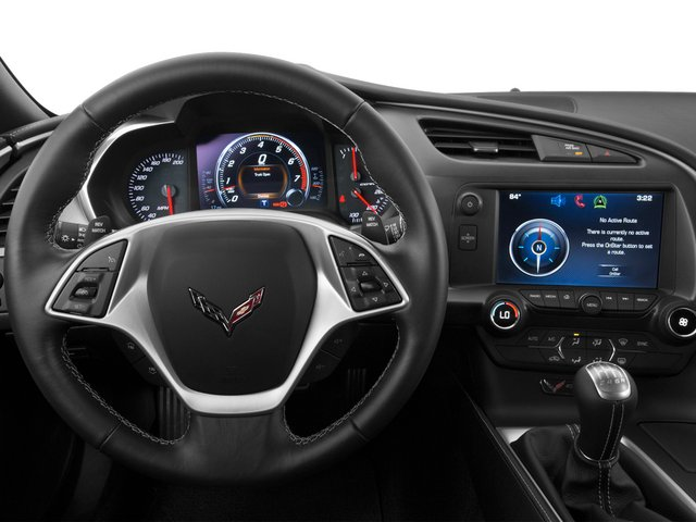 2015 Chevrolet Corvette Pictures Corvette Convertible 2D Z51 LT V8 photos driver's dashboard