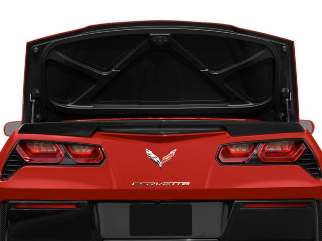 2015 Chevrolet Corvette Pictures Corvette Convertible 2D Z51 3LT V8 photos open trunk