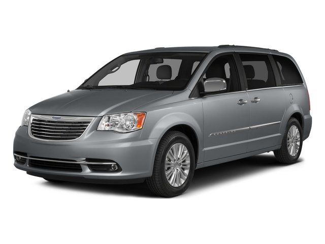 2015 Chrysler Town and Country Prices and Values Wagon Touring V6 side front view