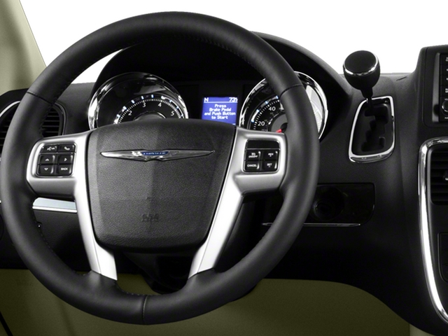 2015 Chrysler Town and Country Prices and Values Wagon Touring V6 driver's dashboard