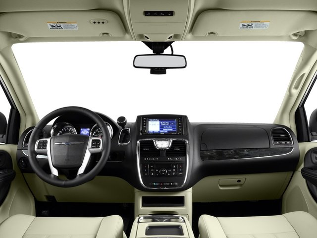 2015 Chrysler Town and Country Prices and Values Wagon Touring V6 full dashboard