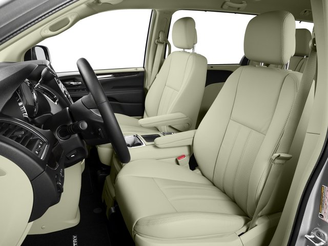 2015 Chrysler Town and Country Prices and Values Wagon Touring V6 front seat interior