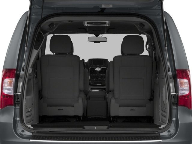 2015 Chrysler Town and Country Prices and Values Wagon Touring V6 open trunk
