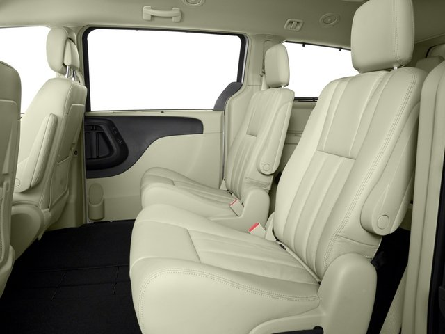 2015 Chrysler Town and Country Prices and Values Wagon Touring V6 backseat interior