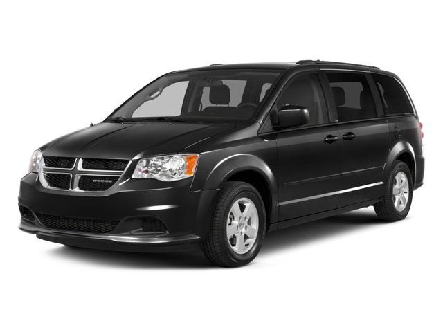 2015 Dodge Grand Caravan Pictures Grand Caravan Grand Caravan SE V6 photos side front view