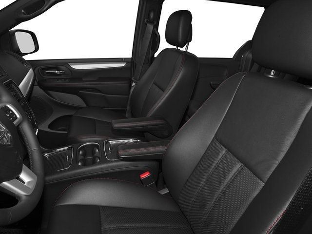 2015 Dodge Grand Caravan Prices and Values Grand Caravan R/T V6 front seat interior