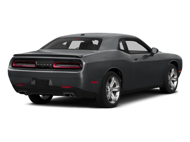 2015 Dodge Challenger Pictures Challenger Coupe 2D R/T Scat Pack V8 photos side rear view