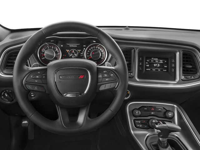 2015 Dodge Challenger Prices and Values Coupe 2D SXT V6 driver's dashboard