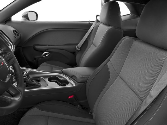 2015 Dodge Challenger Prices and Values Coupe 2D SXT V6 front seat interior