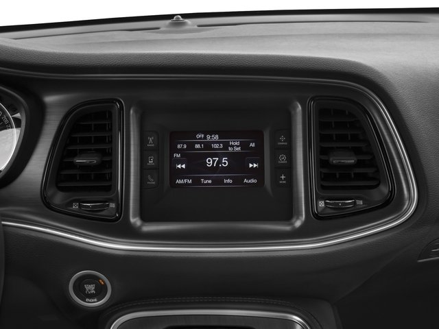 2015 Dodge Challenger Prices and Values Coupe 2D SXT V6 stereo system