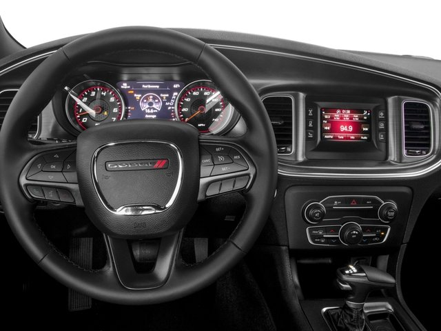 2015 Dodge Charger Prices and Values Sedan 4D R/T Scat Pack V8 driver's dashboard