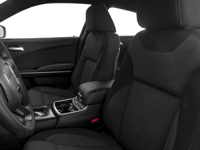 2015 Dodge Charger Prices and Values Sedan 4D R/T Scat Pack V8 front seat interior