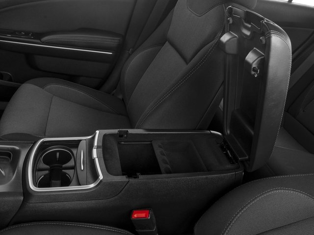 2015 Dodge Charger Prices and Values Sedan 4D R/T Scat Pack V8 center storage console