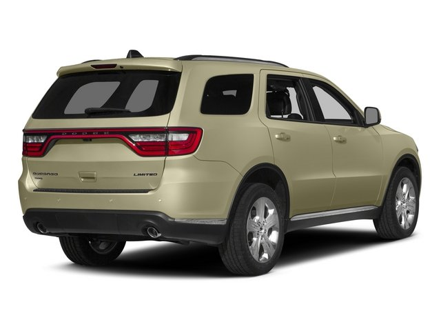 2015 Dodge Durango Prices and Values Utility 4D Limited 2WD V6 side rear view