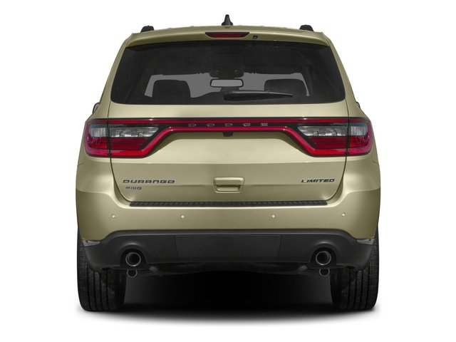 2015 Dodge Durango Prices and Values Utility 4D Limited 2WD V6 rear view