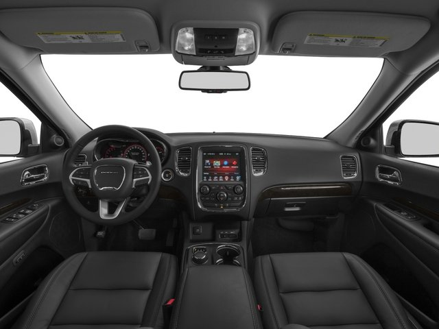 2015 Dodge Durango Prices and Values Utility 4D Limited 2WD V6 full dashboard