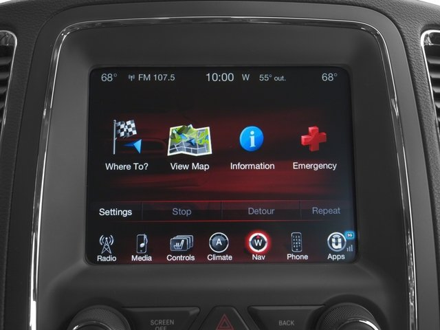 2015 Dodge Durango Prices and Values Utility 4D Limited 2WD V6 stereo system