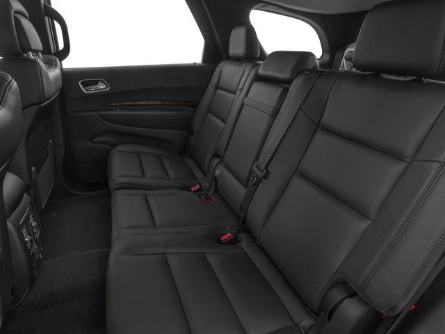 2015 Dodge Durango Prices and Values Utility 4D Limited 2WD V6 backseat interior
