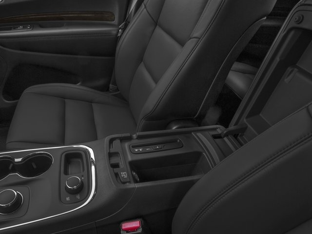 2015 Dodge Durango Prices and Values Utility 4D Limited AWD V6 center storage console