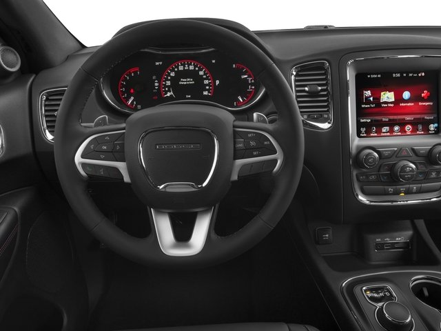 2015 Dodge Durango Prices and Values Utility 4D R/T 2WD V8 driver's dashboard