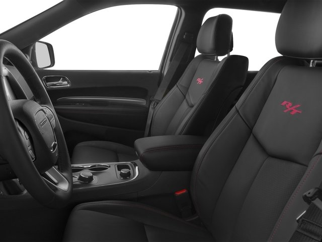 2015 Dodge Durango Prices and Values Utility 4D R/T 2WD V8 front seat interior