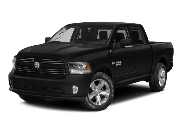 2015 Ram Truck 1500 Pictures 1500 Crew Cab SLT 4WD photos side front view
