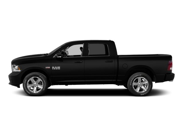 2015 Ram Truck 1500 Pictures 1500 Crew Cab Laramie 4WD photos side view