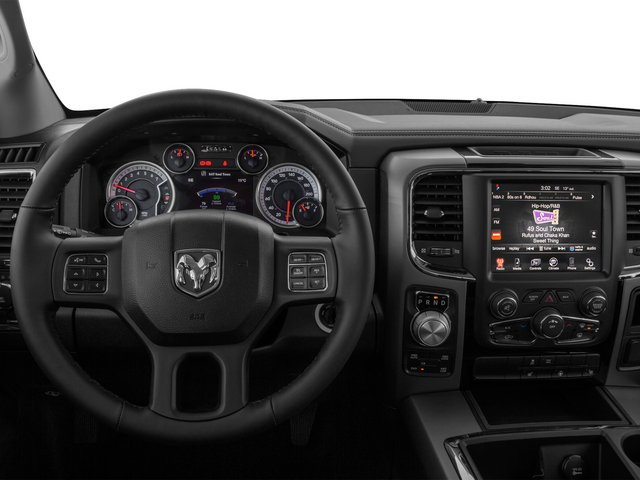 2015 Ram Truck 1500 Prices and Values Crew Cab Longhorn 2WD driver's dashboard