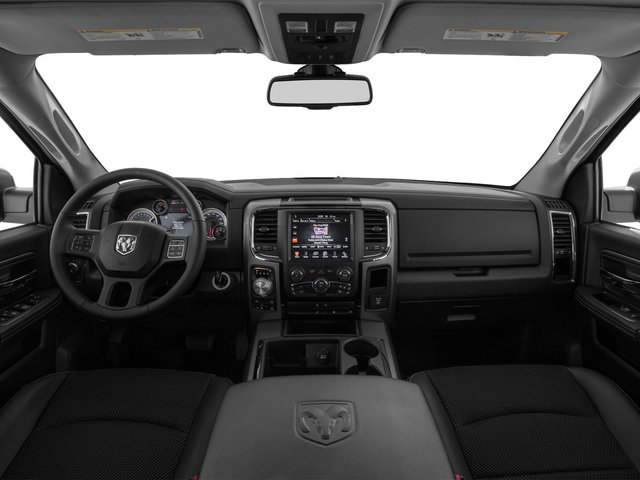 2015 Ram Truck 1500 Prices and Values Crew Cab SLT 2WD full dashboard