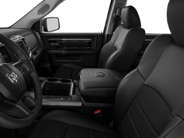 2015 Ram Truck 1500 Prices and Values Crew Cab Longhorn 2WD front seat interior
