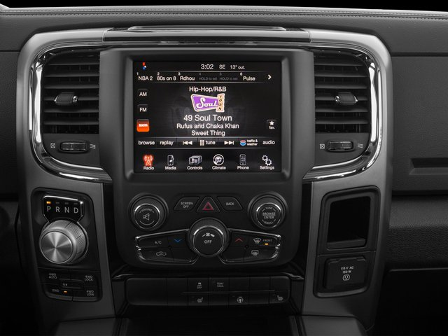 2015 Ram Truck 1500 Prices and Values Crew Cab Longhorn 2WD stereo system