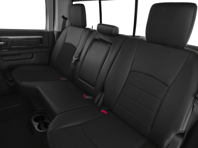 2015 Ram Truck 1500 Prices and Values Crew Cab Limited 2WD backseat interior