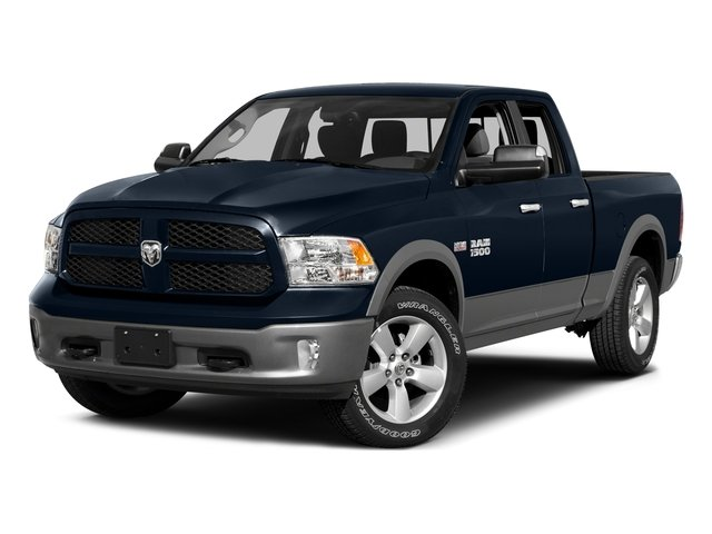 2015 Ram Truck 1500 Pictures 1500 Quad Cab Express 4WD photos side front view