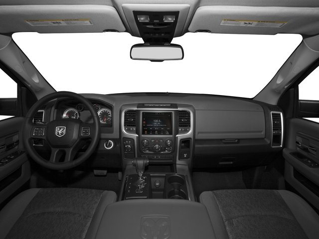 2015 Ram Truck 1500 Pictures 1500 Quad Cab SLT 2WD photos full dashboard