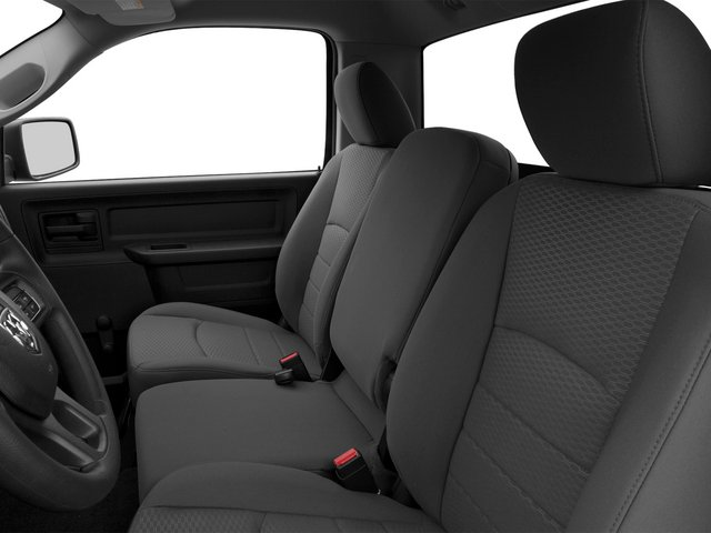 2015 Ram Truck 1500 Prices and Values Regular Cab R/T 2WD front seat interior