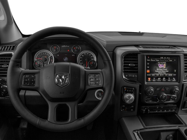 2015 Ram Truck 1500 Prices and Values Quad Cab Sport 2WD driver's dashboard