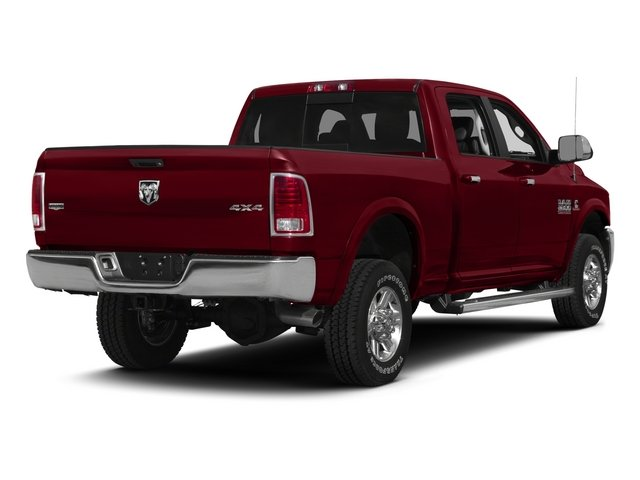 2015 Ram Truck 2500 Prices and Values Crew Cab Longhorn 4WD side rear view