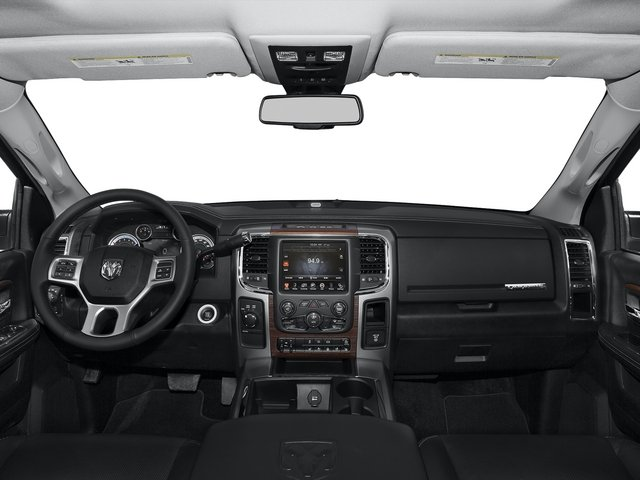 2015 Ram Truck 2500 Prices and Values Crew Cab Longhorn 4WD full dashboard