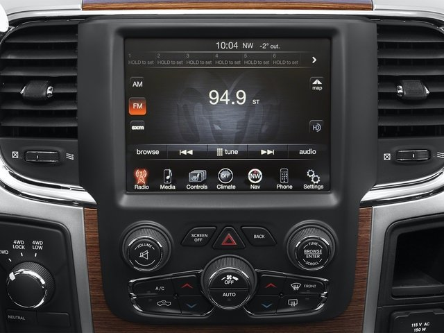 2015 Ram Truck 2500 Prices and Values Crew Cab Outdoorsman 4WD stereo system