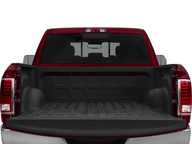 2015 Ram Truck 2500 Prices and Values Crew Cab Outdoorsman 4WD open trunk