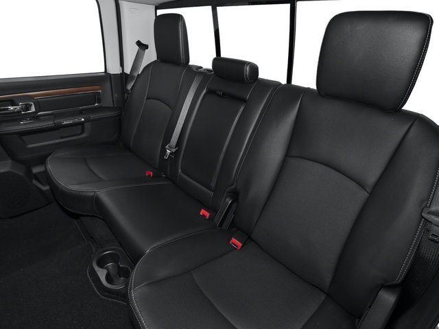 2015 Ram Truck 2500 Prices and Values Crew Cab Longhorn 2WD backseat interior