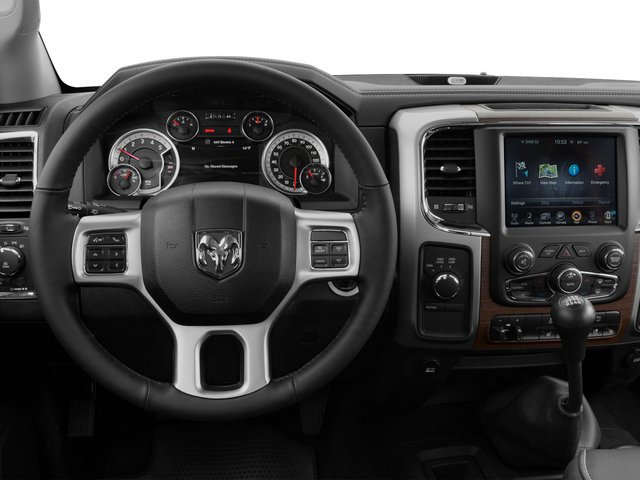 2015 Ram Truck 3500 Prices and Values Mega Cab Longhorn 4WD driver's dashboard