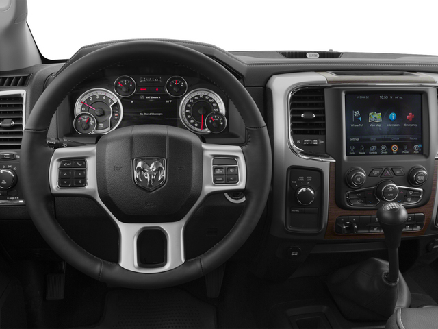 2015 Ram Truck 3500 Prices and Values Mega Cab Limited 2WD driver's dashboard