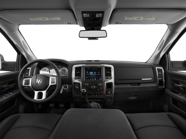 2015 Ram Truck 3500 Prices and Values Mega Cab Longhorn 4WD full dashboard